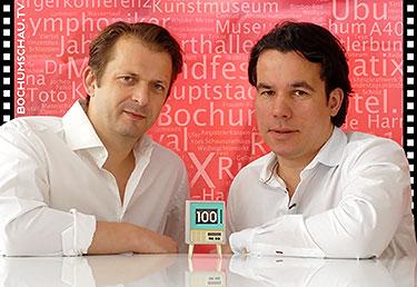 Jens Tampier (l.) und Patrick Lambertus (r.)