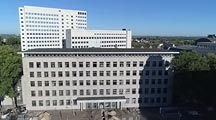 Abriss des Justizzentrums