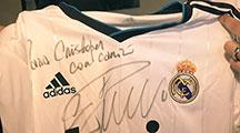 Grüße von Ronaldo