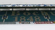 Schnee im Ruhrstadion