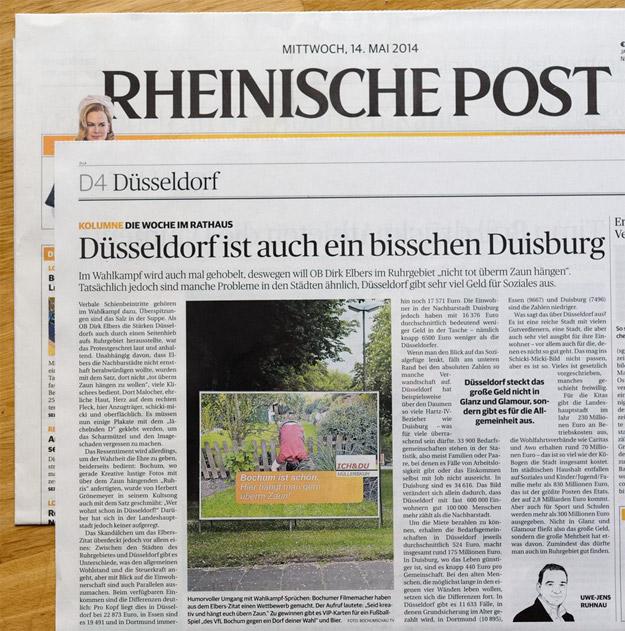 Düsseldorf ist auch ein bisschen Duisburg