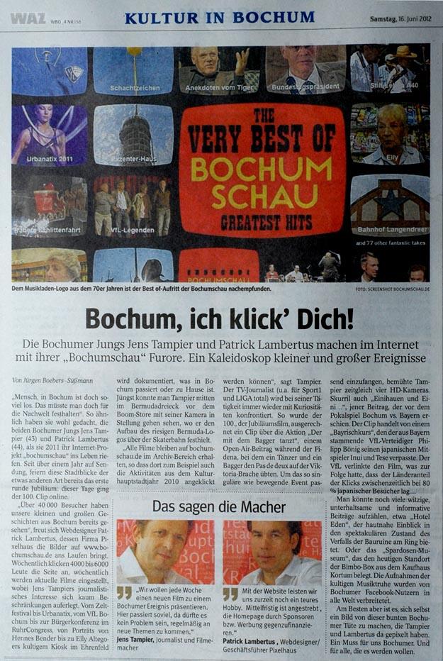 Bochum, ich klick' Dich!