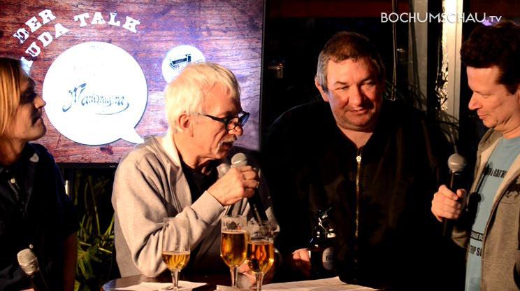 Wolfgang Wölfi Wendland Und Ralf Richter Beim 1 Bermuda Talk