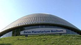 Realer Sternenhimmel über Bochum im Planetarium Bochum