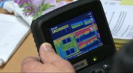 Thermografie - Wärmebild-Aufnahmen zur Analyse für Wärmedämmung